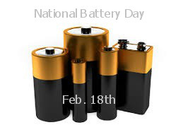 Happy National Battery Day To You!