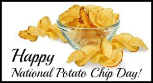 NATIONAL POTATO CHIP DAY