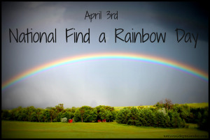 NATIONAL FIND A RAINBOW DAY