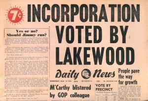 Incorporation1954
